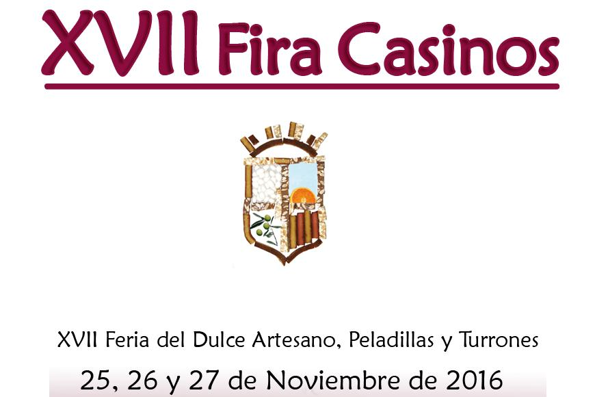 XVII Feria del Dulce Artesano, peladillas y turrones de Casinos