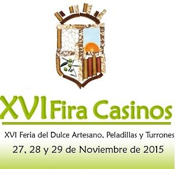 XVI Feria del Dulce Artesano, peladillas y turrones de Casinos