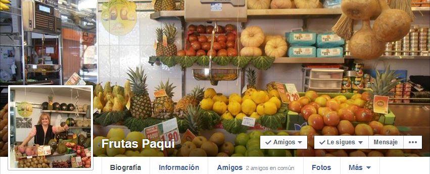 Nuestra amiga Paqui del Mercado Central