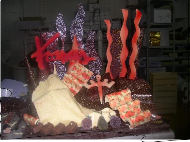Trabajo en Chocolate para Francis Montesinos