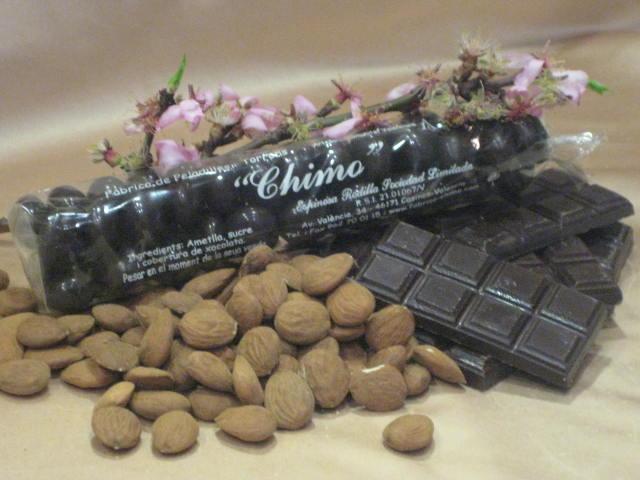 Bolsa Peladillas chocolate puro.
