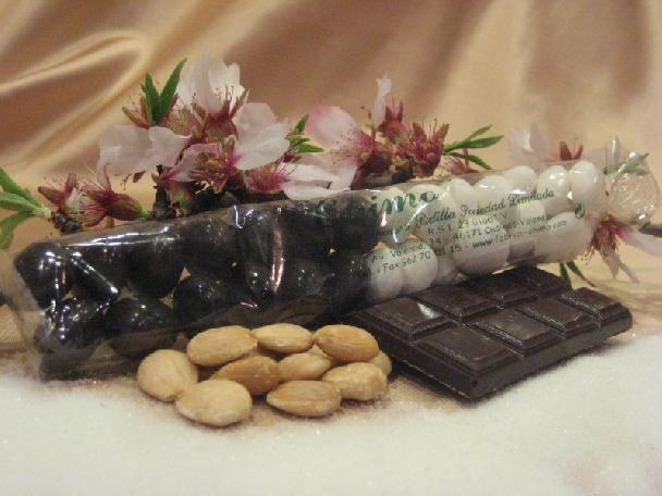 Bolsa Peladillas azúcar y chocolate.