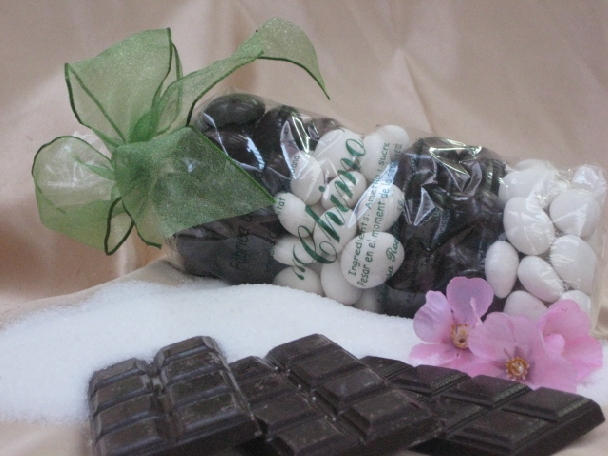 Bolsa Peladillas azúcar-choco.