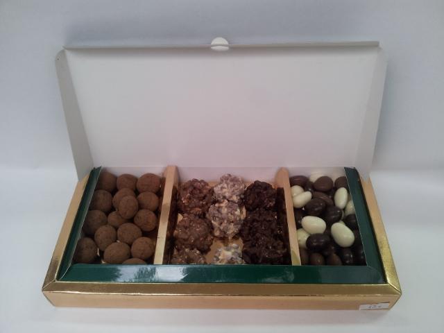 Caja regalo  Delicias de chocolate.