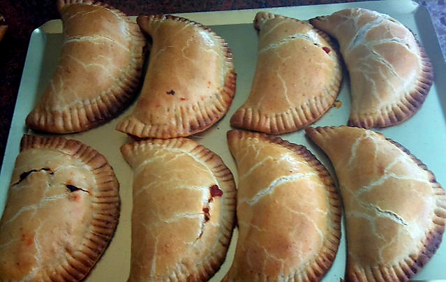 Empanadillas tomate.
