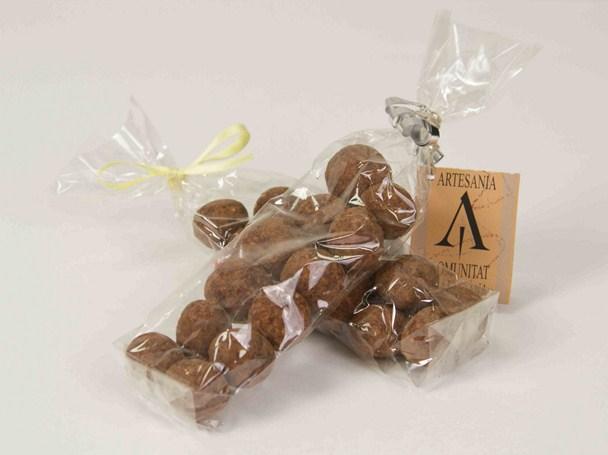 Bolsa de nueces de macadamia.
