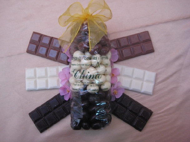 Bolsa Peladillas 3 Chocolates.